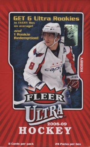 2008-09 Fleer Ultra Hockey Hobby Box (Fleer Ultra Hockey Cards Hobby)