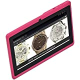 A23 7 inch Android Tablet Android 4.4 1024 x 600 Dual Core 512MB RAM+8GB ROM (Pink)