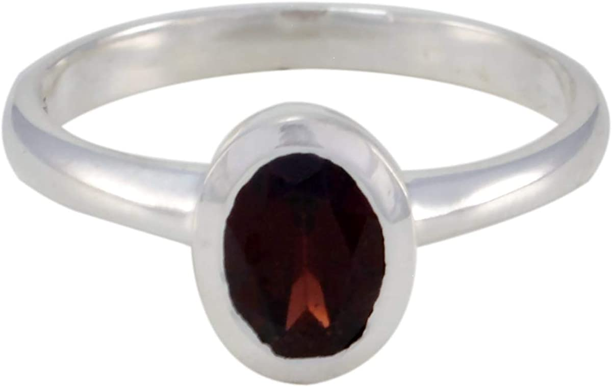 Details about  /Solid 925 Sterling Silver Garnet Oval Cab Gemstone Mens Ring Arabic Ring K12