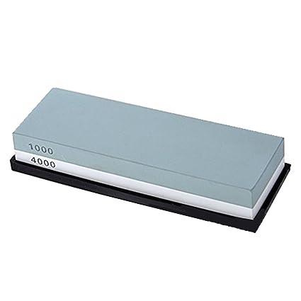 Compra Lethend 1000#/4000#Grit - Piedra de afilar de Doble ...