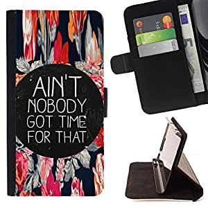 - EVERY QUOTE TIME MOTIVATIONAL MOMENT LIVE LIFE - - Prima caja de la PU billetera de cuero con ranuras para tarjetas, efectivo desmontable correa para l Funny HouseFOR LG G3