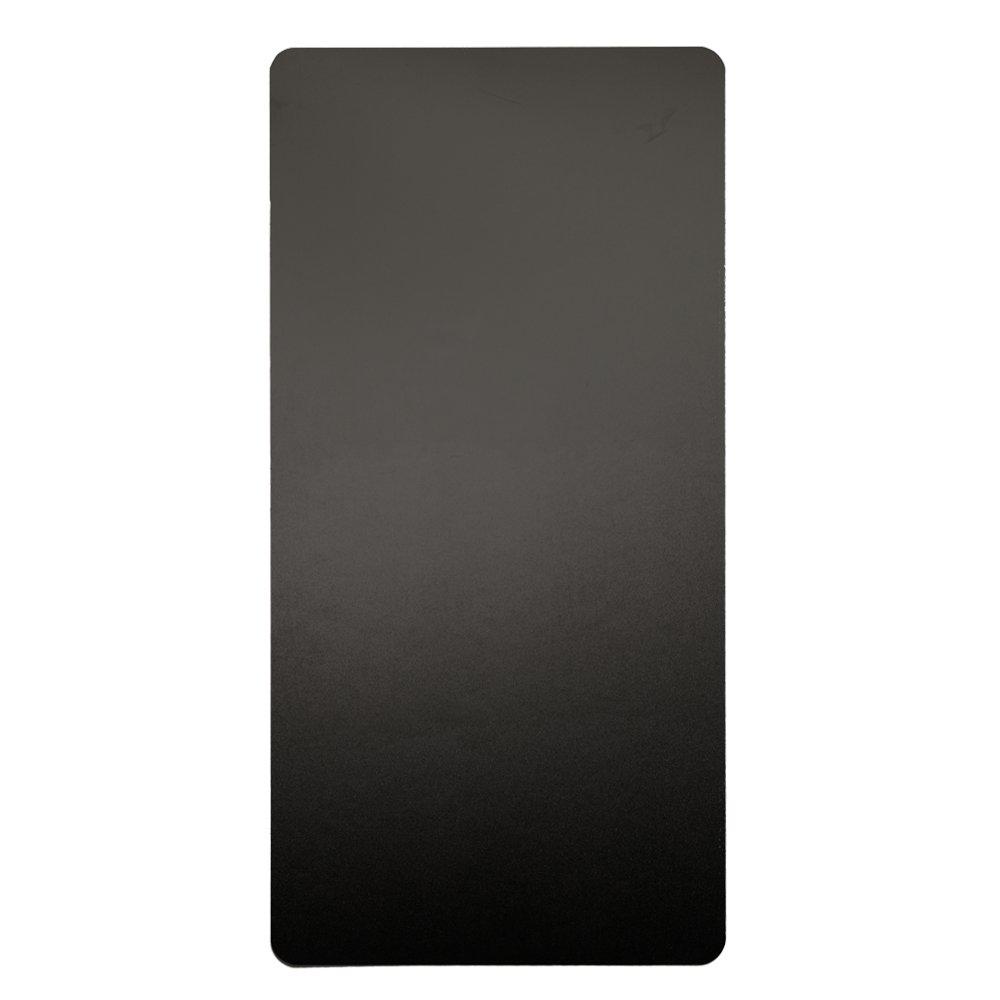 Excel Dryer 89B Plastic XLERATOR Wall Guard for XLERATOR Hand Dryer, 15-3/4'' Width x 31-3/4'' Height x 1/16'' Depth, Black (Pack of 2)