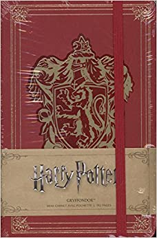 Harry Potter mini carnet Gryffondor