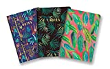 Studio Oh! Notebook Trio with 3 Coordinating Designs Available in 12 Different Assortments, Justina Blakeney Botanical Collection
