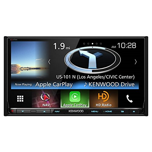 Kenwood DNX893S 6.95'' eXcelon Double-DIN AV Navigation System With Bluetooth by Kenwood