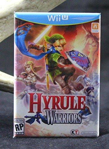 (Hyrule Warriors Wii Game Box Refrigerator Magnet.)