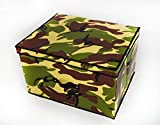 New Large Kids Chest Storage Toy Box Camouflage / Army Box