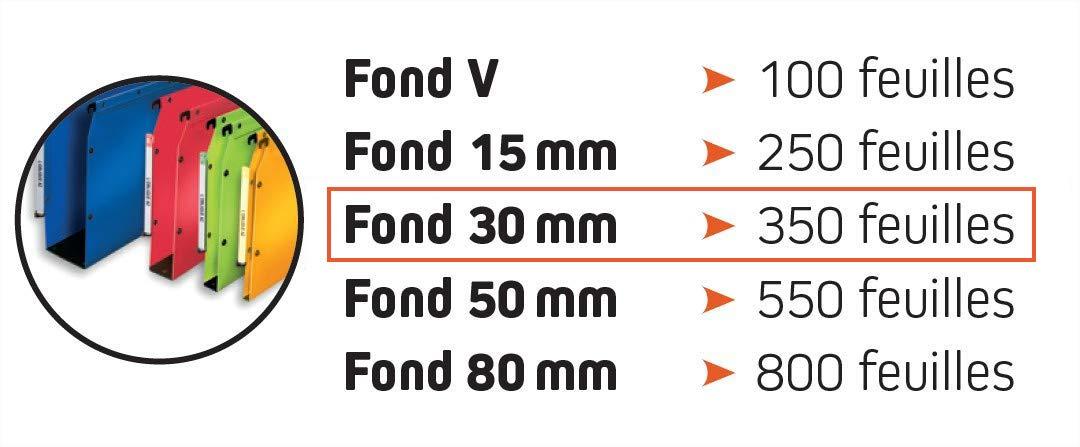 0.5 mm Polypropylene Elba Polypro Ultimate A4 Suspension Files Pack of 10 Black 30 mm Base