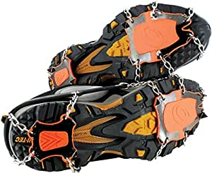 Yaktrax XTR Extreme Outdoor Traction (Black/Orange, Small)