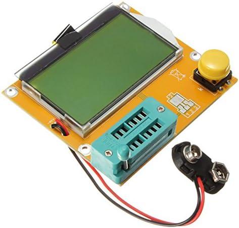 Hrph LCR-T4 ESR Medidor Transistor Probador Diodo Triode Capacitancia SCR Inductancia M328: Amazon.es: Electrónica