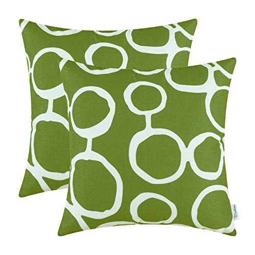 Pack of 2 CaliTime Cushion Covers Throw Pillow Cases Shells,