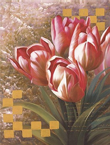 Oil Painting 'Red Tulips', 30 x 40 inch / 76 x 100 cm , on High Definition HD canvas prints is for Gifts And Garage, Kids Room And Study Room Decoration, pop