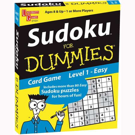 Sudoku for Dummies Card Card Dummies Game: Easy f3e008