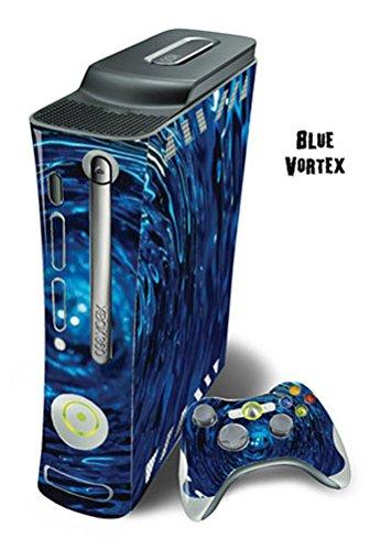 xbox 360 console blue - 9