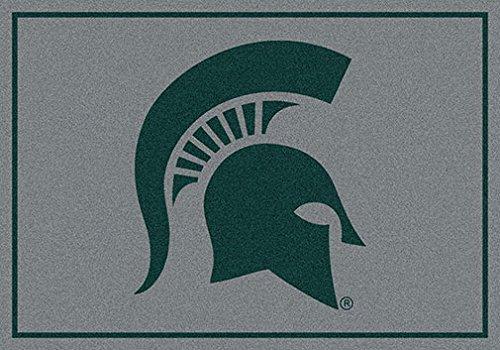 Milliken Ncaa College Spirit Area Rug Michigan State Spartans 74198 3' 10