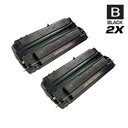 CS Compatible Toner Cartridge Replacement Canon FX4 1558A002AA Black FAX-L800 L900 Laser Class 8500 9000S 9500S 9000 9500 9800 9000MFP 9500MFP L900 9000MS 9500MS Page Yield: 4000 Each 2 Set
