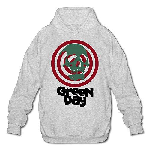 PHOEB Mens Sportswear Drawstring Hooded Sweatshirt,American Rock Band Ash Medium ()