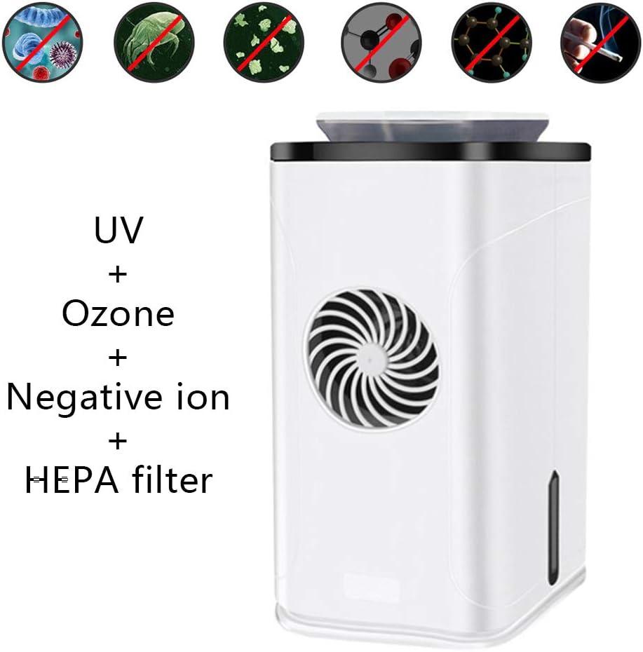 Purificador De Aire 2 En 1 con Esterilización UV, Filtro HEPA ...