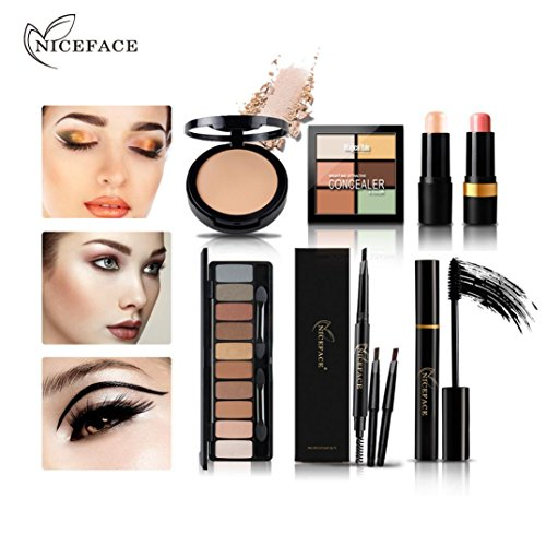 Price comparison product image Christmas Gift for womenZYooh Pro Set Makeup Eyeshadow Palette your best choose!Cosmetics Eyeshadow High Light Repair Combination