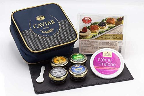 OLMA Noble Caviar Gift Set, Delicious, Best Quality, Premium Taste