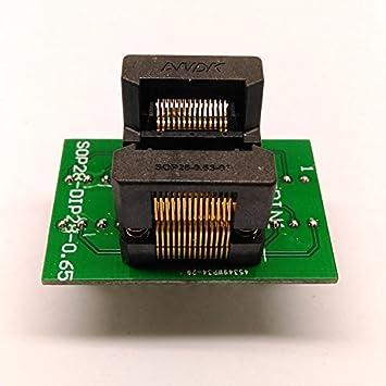 SOP28 to DIP28 SOP16 to DIP16 Socket Adapter Converter 0.65 1.27 Pitch