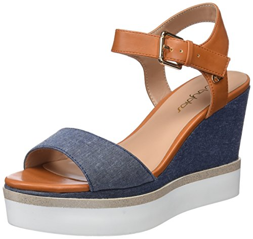 Denim Sling 430 Arancio Platform Sandals Orange Back Women's Daily Byblos OPx8ax