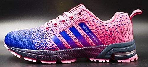 Jogging Purple Outdoor Running Shoes Fashion Mens Womens Athletic Shoes Tennis Sneaker JiYe Walking xFYwq7Tf