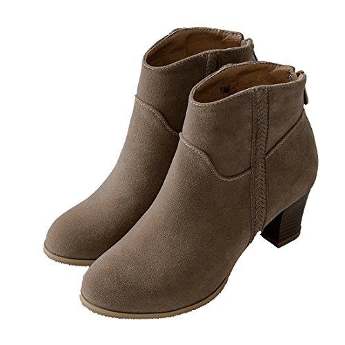 YL Women's Boots red red Khaki CBsIP