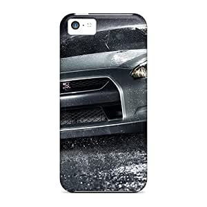 Iphone 5c Case Slim [ultra Fit] Nissan Gtr In Rain Protective Case Cover