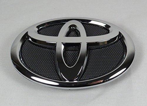 - Toyota 2007-2009 Camry Front Bumper Emblem Chrome/Black Badge Grille Sign Grill Symbol Logo
