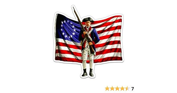 Revolutionary War Flag Of New England Decal Vinyl Bumper Sticker 5