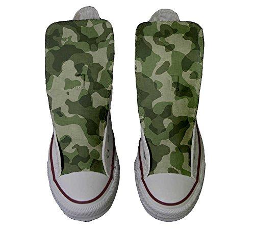 Sneaker personalizzate unisex Prodotto CONVERSE Mimetiche Star Artigianale All qFnOOx8ZR