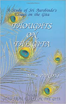 thoughts on the gita m p pandit com books thoughts on the gita