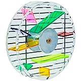 Niteangel Parrot Creative Foraging Systems, Foraging Wheel, Bird Foraging Toy, 6-inch Diameter