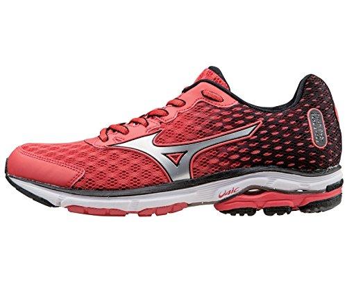 MizunoWave Rider 18 - Zapatillas de Running Mujer - rojo y negro
