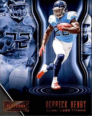 74424887 Amazon.com: 2018 Panini Playbook Orange #24 Derrick Henry Tennessee ...
