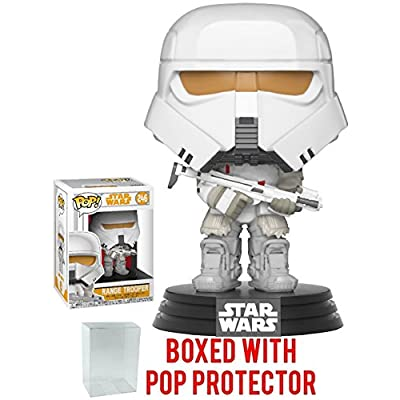 Funko Pop! Star Wars: Solo - Range Trooper Vinyl Figure (Bundled with Pop Box Protector Case): Toys & Games