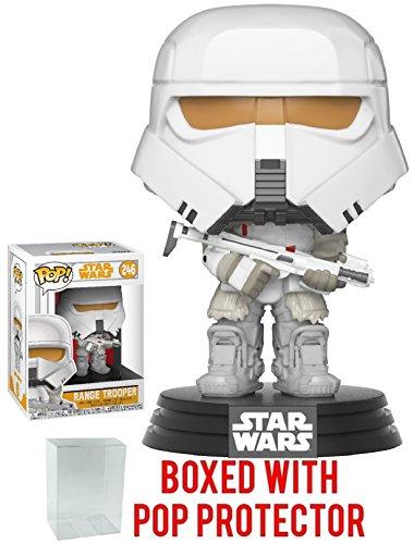 Funko Pop  Star Wars  Solo   Range Trooper Vinyl Figure  Bundled With Pop Box Protector Case