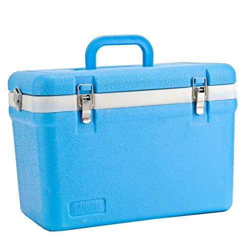 MagiDeal Ice Box Cooler Model 12 litre Lightweight Box for Camping Outdoor Picnic by MagiDeal