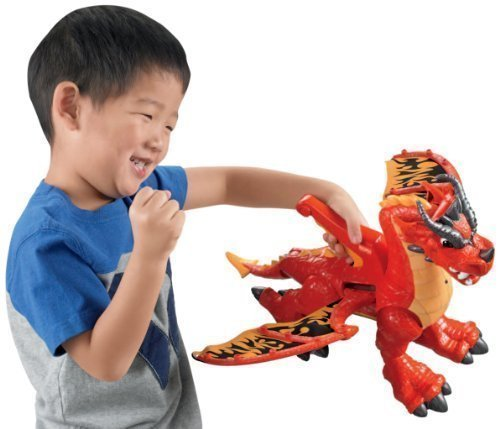 Fisher-Price Imaginext Eagle Talon Castle Dragon -