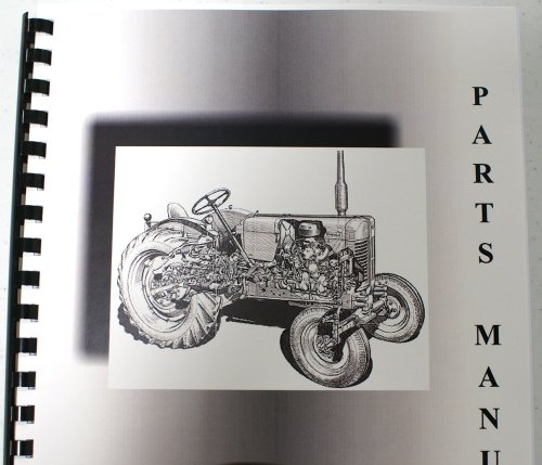 Massey Ferguson MF 450 Excavator Early Parts Manual
