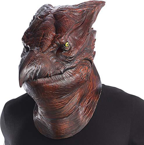 Rubie's Unisex Godzilla Adult Deluxe Rodan Overhead Latex Costume Mask, As Shown, One Size]()