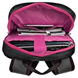 VanGoddy Pink Trim Anti-Theft Laptop Backpack w/USB Hub, HDMI Cable & Mouse Suitable AOC I1659FWUX, E1659FWUX, E1659FWU, I1601FWUX 16-inch Portable Monitor