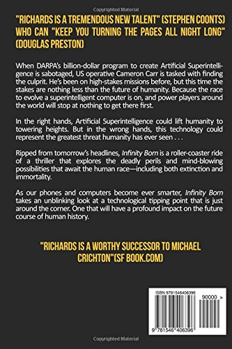 Infinity Born Douglas E Richards 9781546406396 Amazon Books