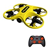 Mirarobot S60 FPV Mini Drone for Beginners and Kids Quadcopeter Tiny Whoop RC Racing VR 5.8-G 40CH 6 Axis 720P HD Camera RTF