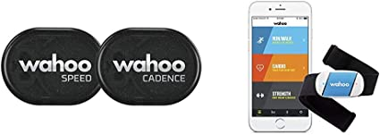 Wahoo Blue HR Heart Rate Monitor for iPhone /& Android FREE SHIPPING