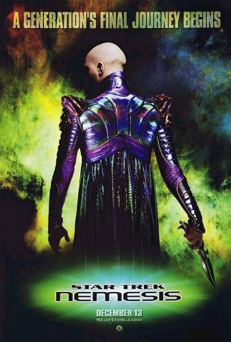Image result for star trek nemesis poster