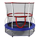 Skywalker Trampolines 60 In. Round Seaside Adventure Bouncer with Enclosure