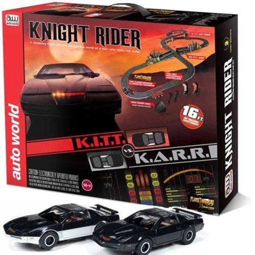 Knight Rider K.i.t.t Ho Scale Slot Car Race Track Set