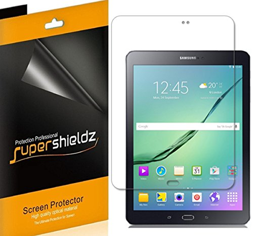 (3 Pack) Supershieldz for Samsung Galaxy Tab S2 8.0 Screen Protector, High Definition Clear Shield (PET)